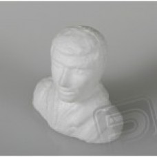 Figurka pilota bílá nebarvená